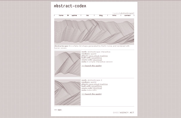 abstract-codex