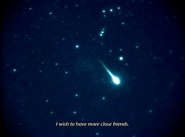 When I wish upon a star