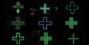 Shining Crosses