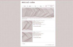 abstract-codex
