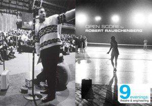 Open Score by Robert Rauschenberg