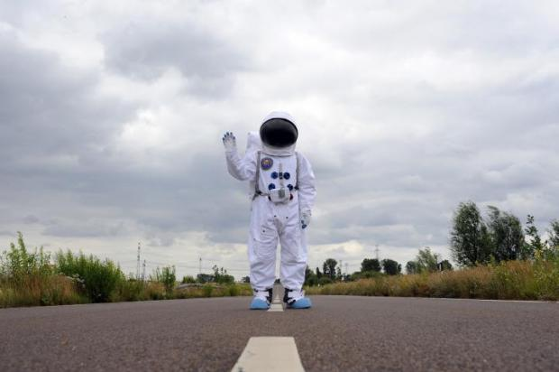 The Astronaut on The Roof