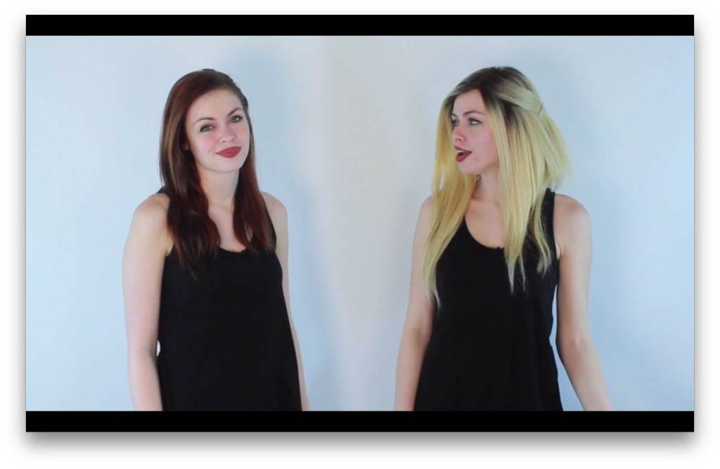 Liat Berdugo + Emily Martinez as Five Twins